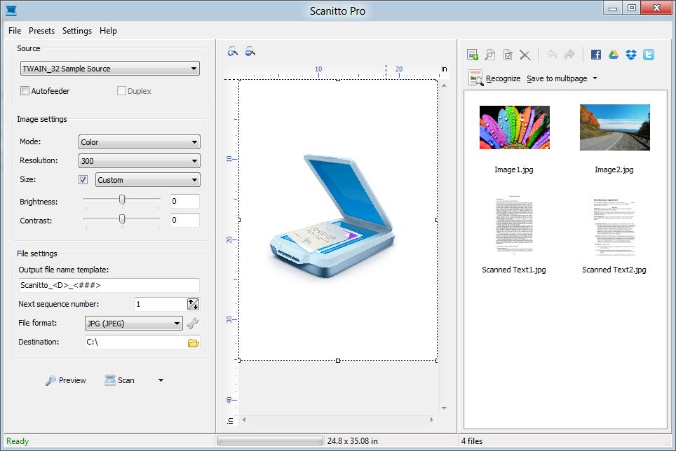 Scanitto Pro – 扫描软件丨反斗限免