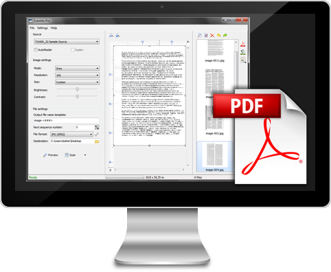 Scan to PDF with Scanitto Pro